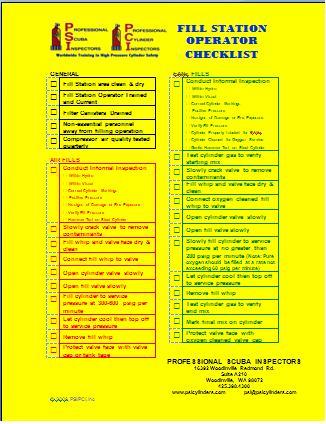 Publications PSI Cylinders Professional Scuba Inspectors